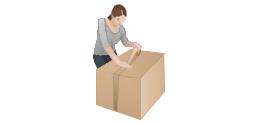 Packaging, packing,