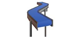 Packing conveyor, packing conveyor, conveyor,