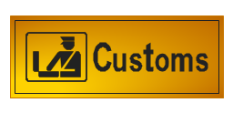 Customs sign, customs sign,