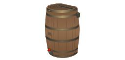 Woodgrain barrel, woodgrain, barrel,