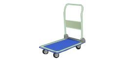 Flatbed trolley, cart,