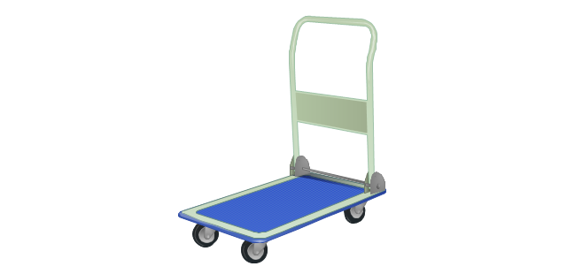Flatbed trolley, cart,