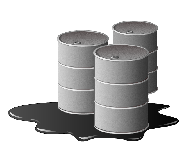 Oil barrels, petroleum,