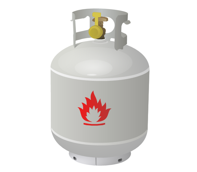 Liquefied petroleum gas, propane,