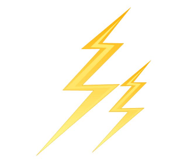 Lightning, lightning,