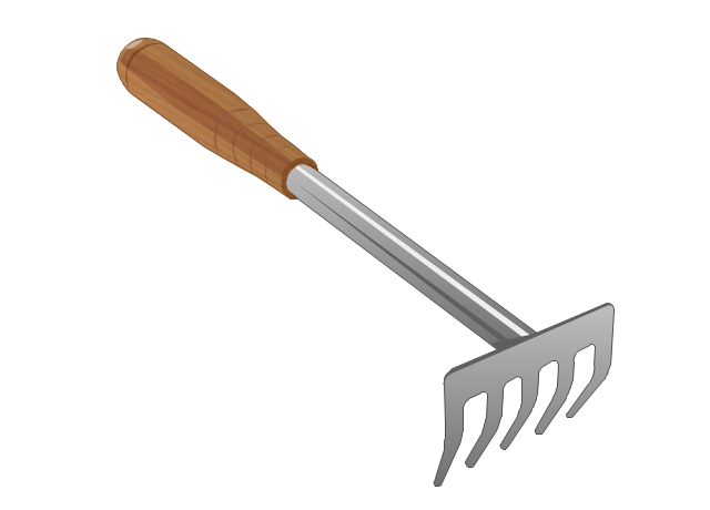 Tools vector stencils library for Gardening tools wikipedia