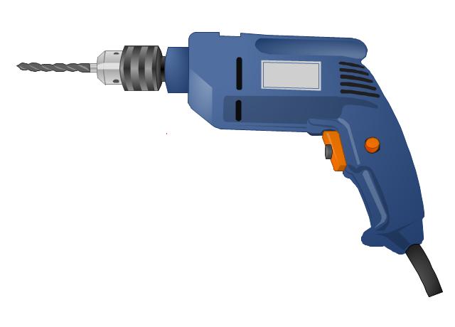 Pistol-grip electric drill, drill,