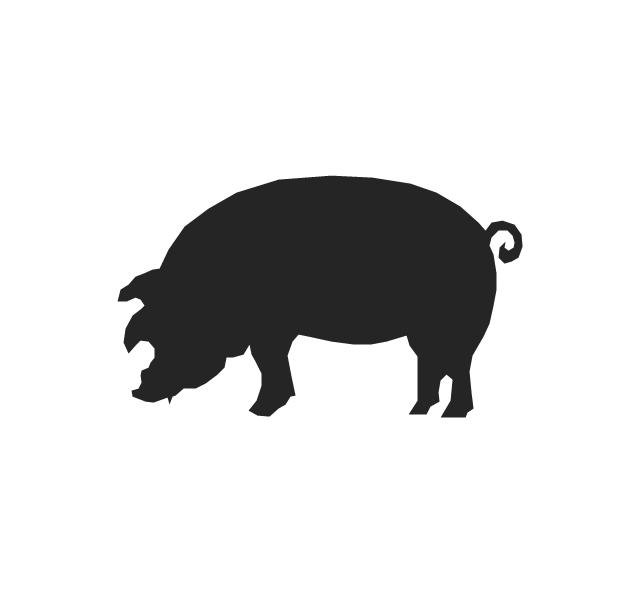 Animals - Vector stencils library