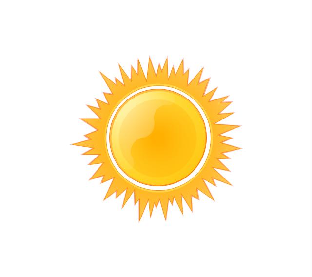 Sunny, sunny,