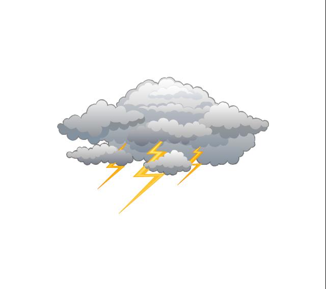 Lightning, lightning, thunder,