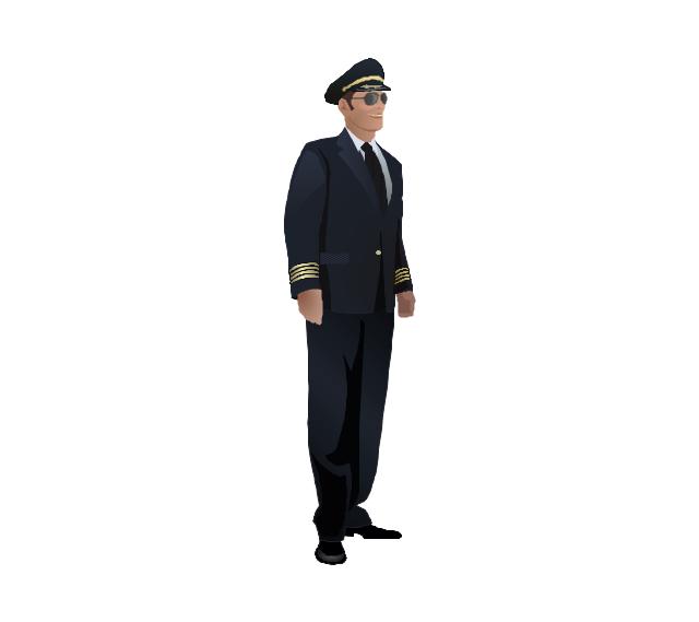 Pilot, pilot, man,
