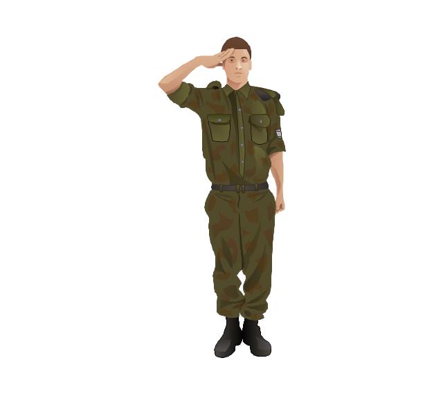 Soldier, soldier, man,