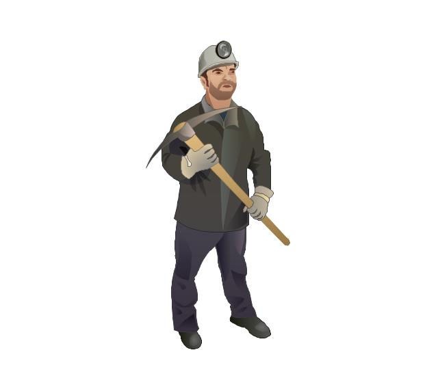 Miner, miner, man,