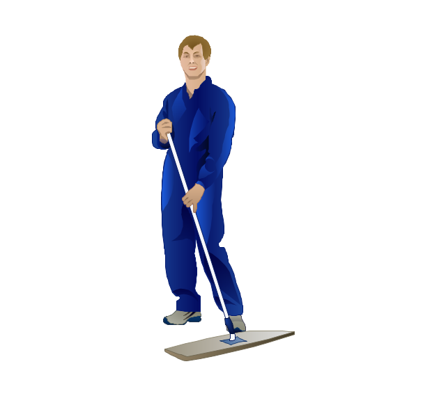 Cleaner, cleaner, man,