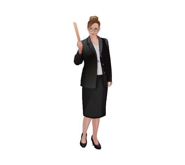 Teacher, teacher, woman,