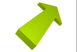Vertical moving, presentation, arrow,