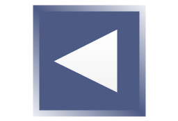 Arrow backward square, presentation, arrow,