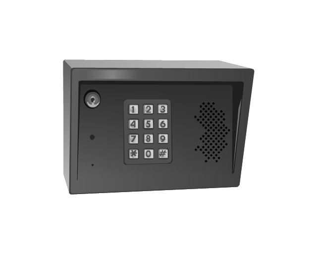 Telephone entry system, telephone entry system,