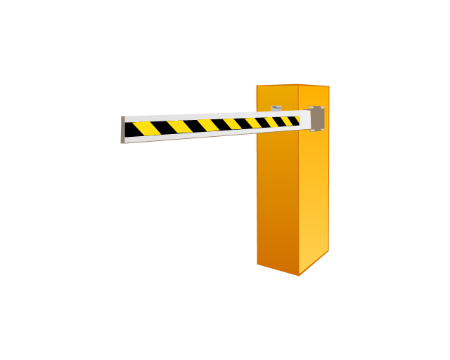 Barrier gate operator, barrier gate operator,