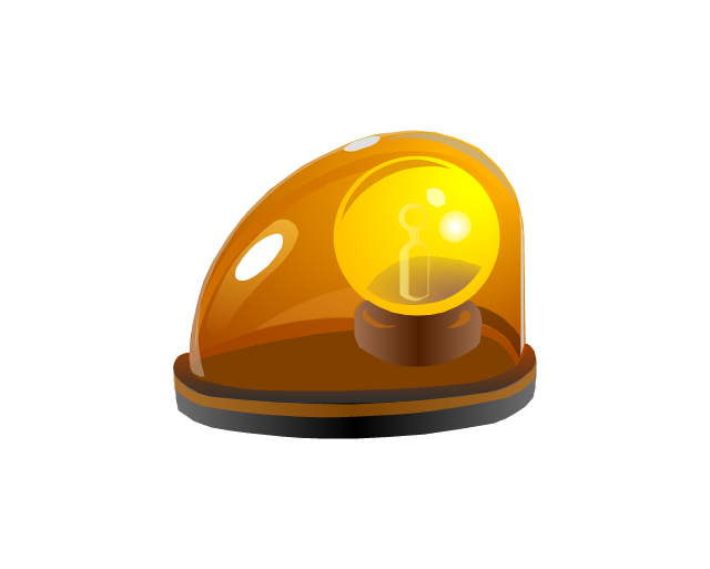 Alarm light, yellow, alarm light, yellow,
