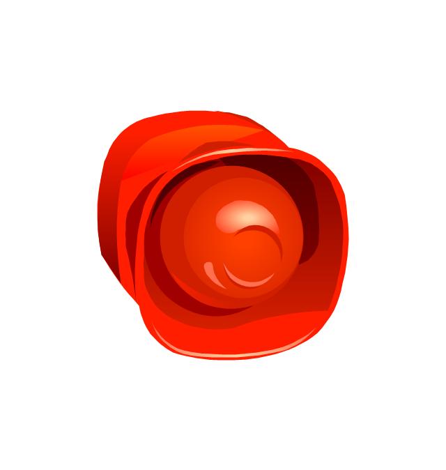 Fire Alarm Siren, detector,