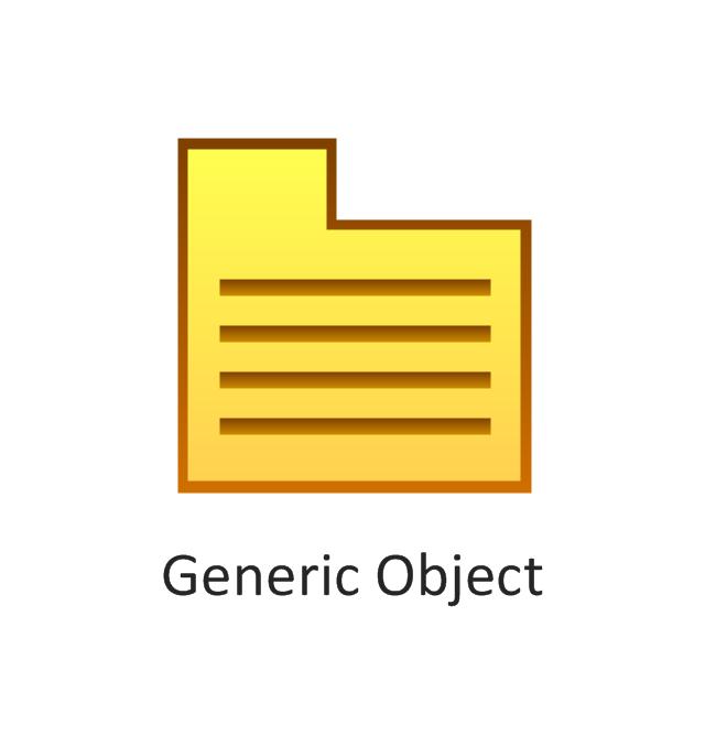 Generic object, generic object,