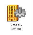 NTDS site settings, NTDS site settings,