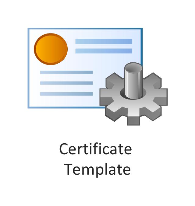 Certificate template, certificate template,