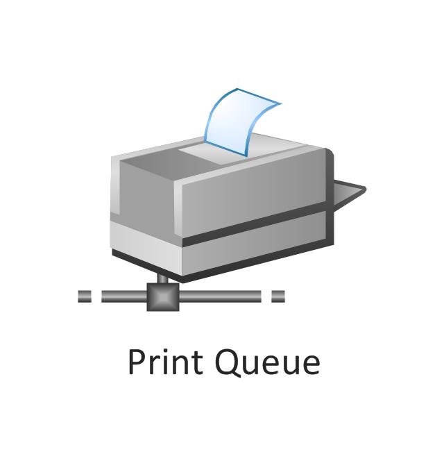 Print queue, print queue,