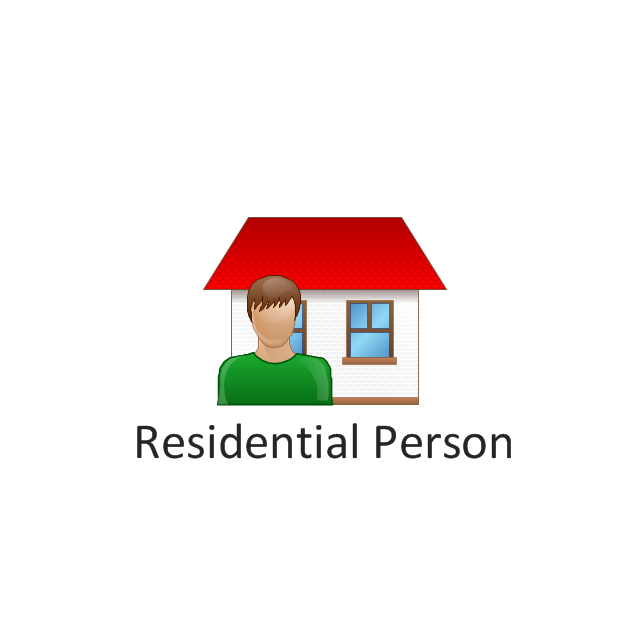 Residential person, residential person,