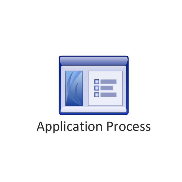 Application process, application process,