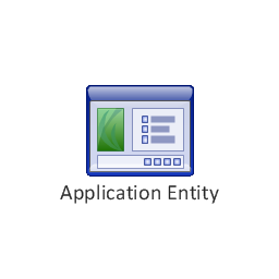 Application entity, application entity,
