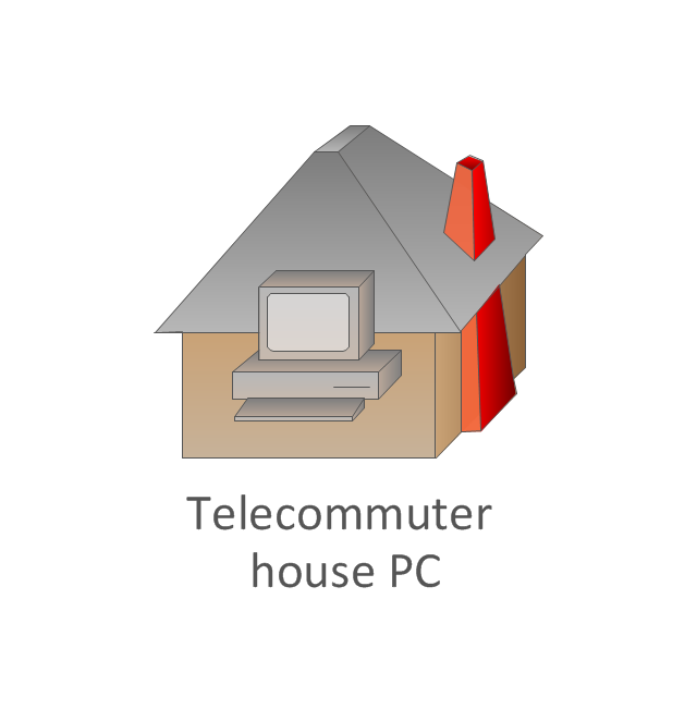 Telecommuter house PC, telecommuter house PC,
