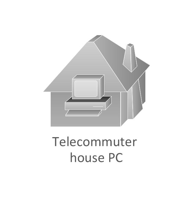 Telecommuter house PC, subdued, telecommuter house PC,