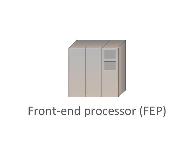 Front-end processor (FEP), front-end processor, FEP,