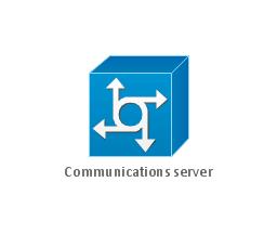 Communications server, communications server, access server,