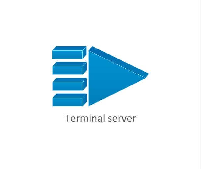 Terminal server, terminal server,