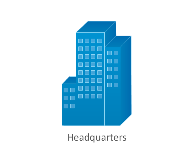 Headquarters, blue, headquarters, generic building,
