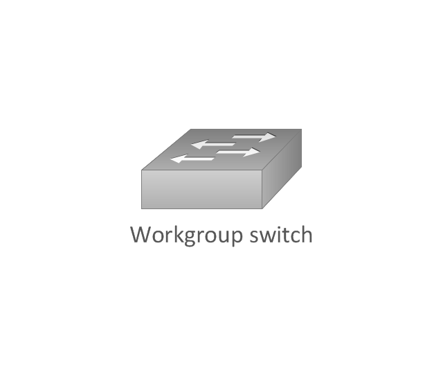 Workgroup switch, subdued, workgroup switch,