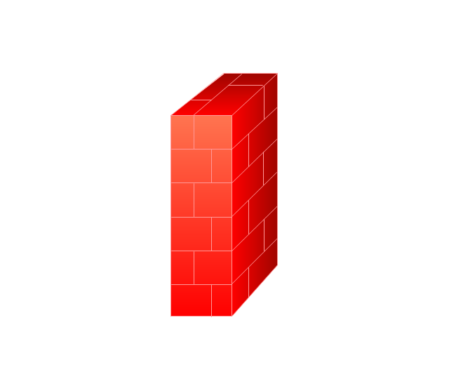 Image Gallery network firewall icon