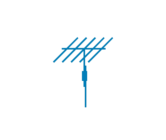 Antenna, blue, antenna,