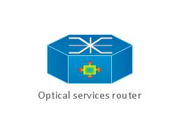 Optical services router, optical services router,