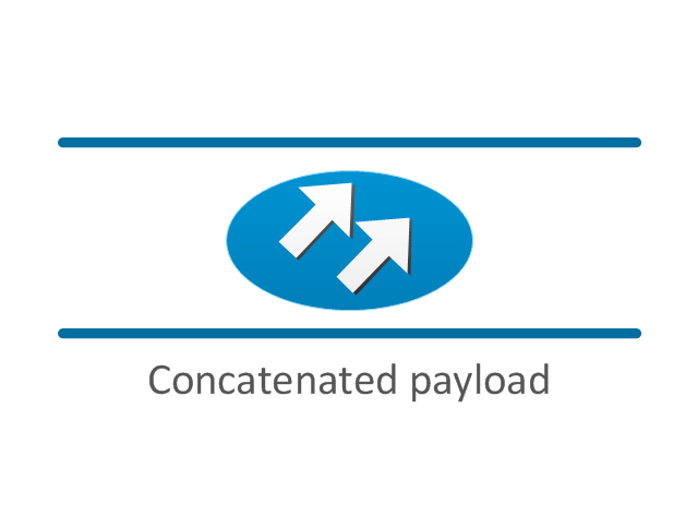 Concatenated payload, concatenated payload,