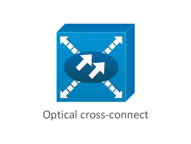 Optical cross-connect, optical cross-connect,