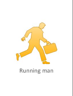 Running man, running man ,