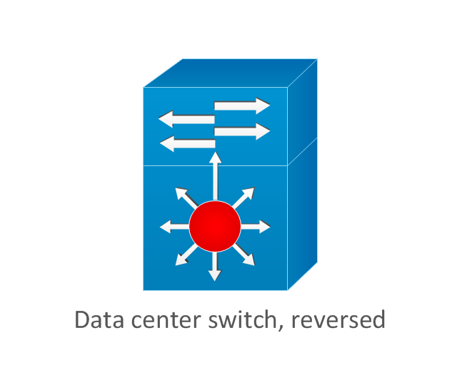 Data center switch, reversed, data center switch,