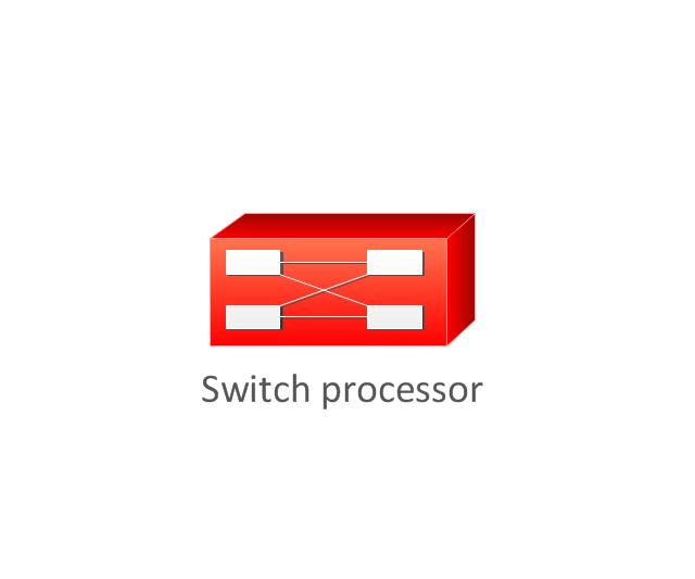 Switch processor, switch processor,