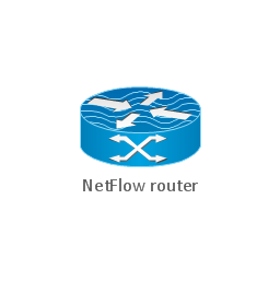NetFlow router, NetFlow router, edge label switch router, NetFlow,