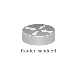Router, subdued, router,