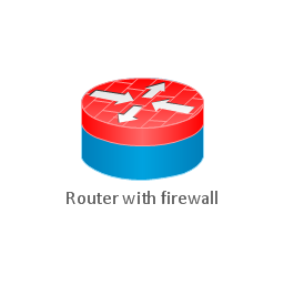 Router with firewall, router with firewall ,